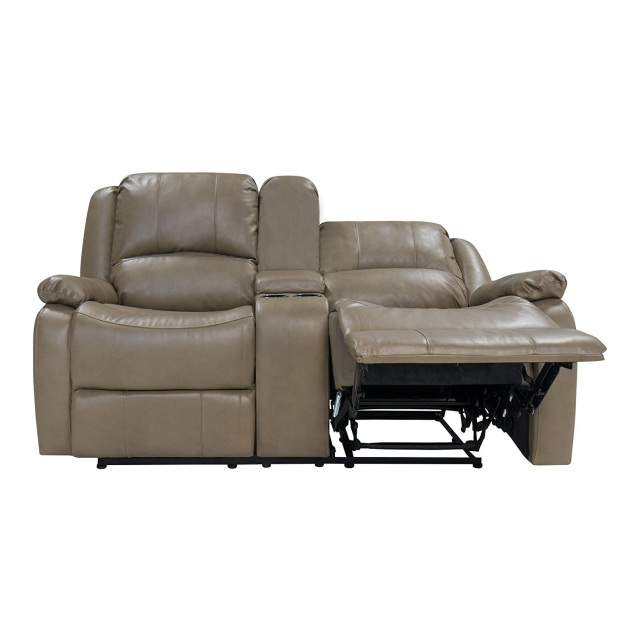 67 Quot Double Rv Zero Wall Hugger Recliner Sofa W Console Grey