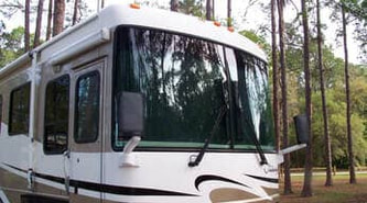 Class C RV Inside Privacy Windshield Shade