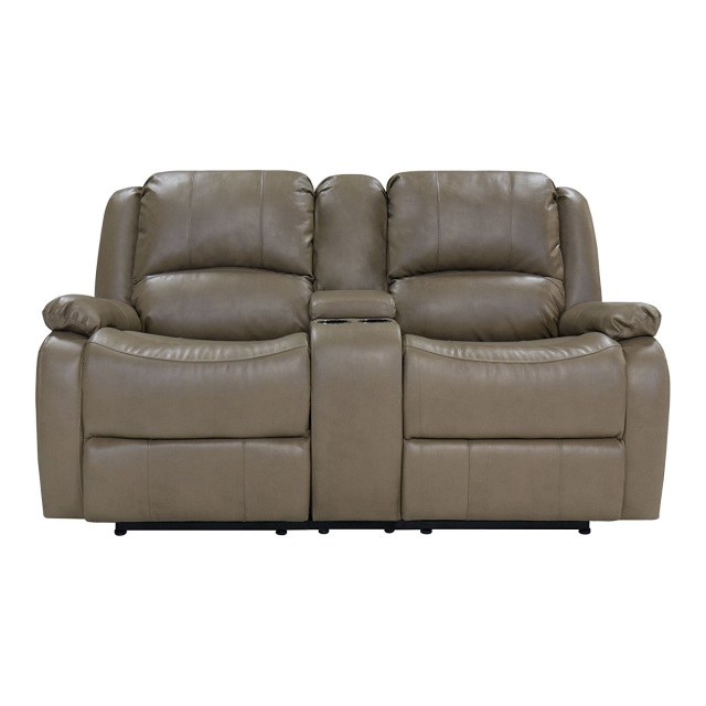 67 Quot Double Rv Zero Wall Hugger Recliner Sofa W Console Grey